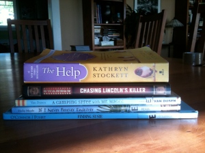 Book-A-Day Stack, Week 1