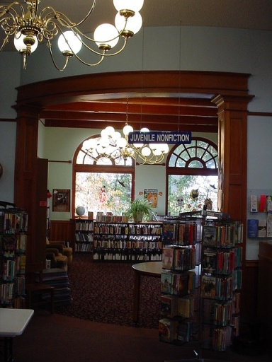 Carol Ryrie Brink Room - courtesy of Latah County Public Library